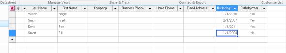 SharePoint List Data